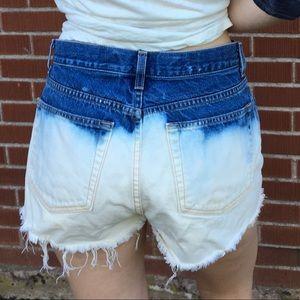 GAP Ombré Denim Cut-Off Shorts